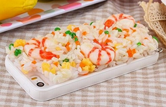 Чехол для телефона: «Морепродукты».