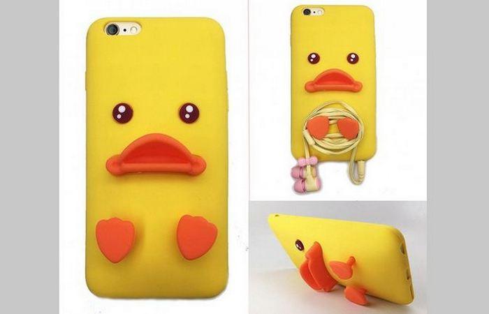 Чехол для телефона: «Желтая утка».