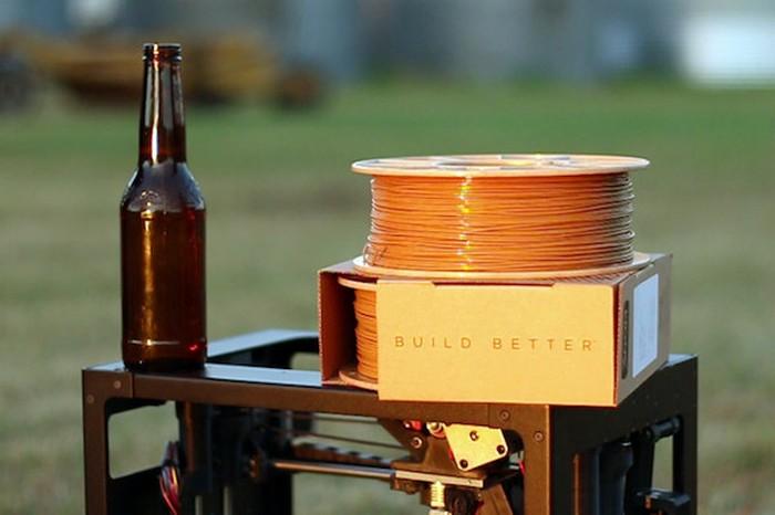 Очень прочный материал из отходов пива.