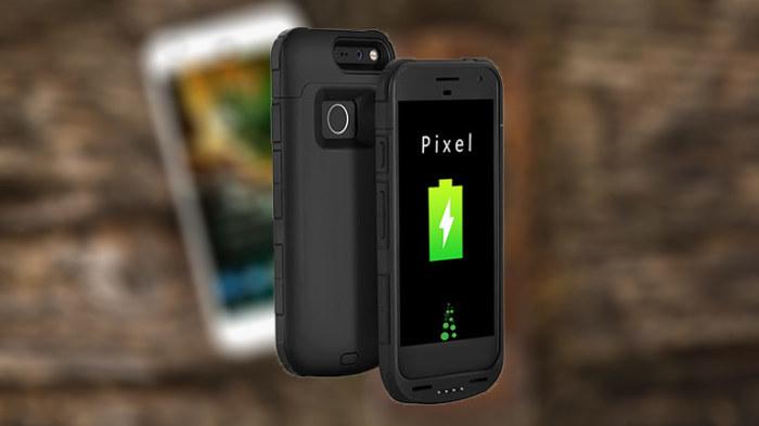 Чехол для телефона Google Pixel с аккумулятором.