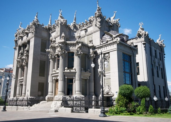 Пугающее здание: «Дом с химерами».