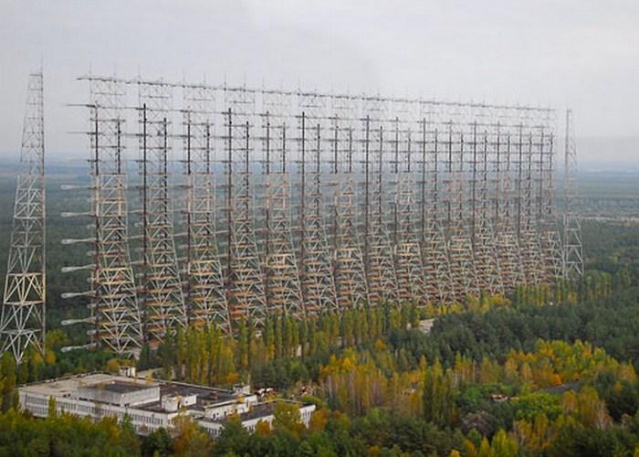Пугающий контур радиолокационной станции «Дуга».