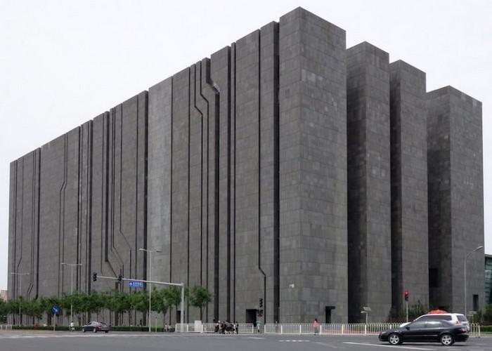 Пугающее здание Digital Building в Пекине.