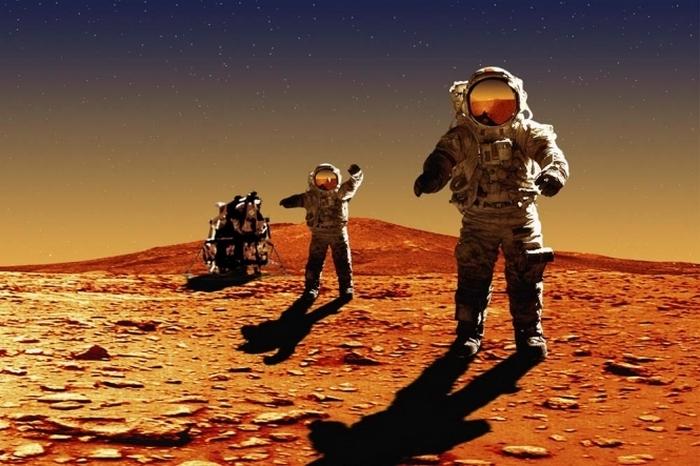 Стать первопроходцем на Марсе.