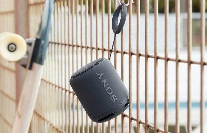 Sony XB10 с Bluetooth - портативный беспроводной динамик.