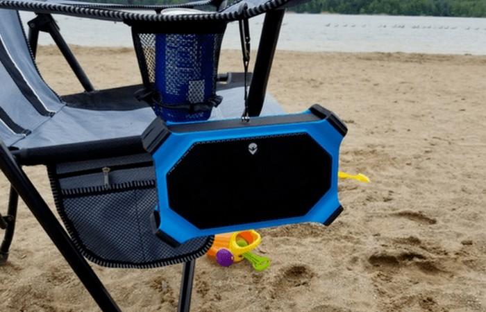 ECOXGEAR EcoSlate - водонепроницаемый беспроводной Bluetooth-динамик.