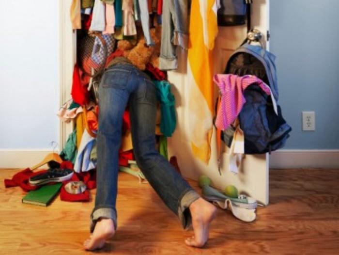 Кажется, одежды стало слишком много.