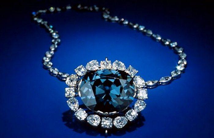 Забавная посылочка: алмаз «Хоуп».