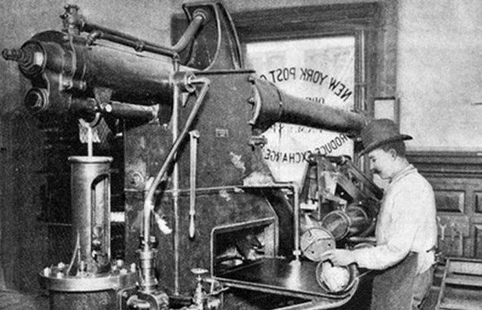 Забавная посылочка: система почтовых труб.