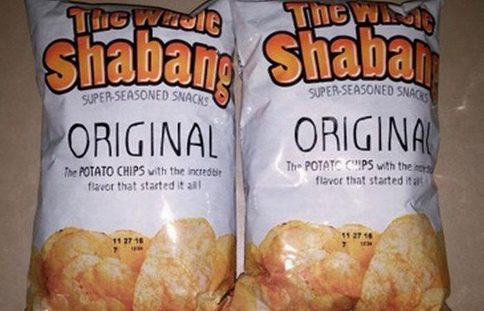 Чипсы «Whole Shabang», в натуре!