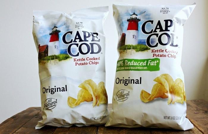 Чипсы «Cape Cod Potato» от Robust Russet.