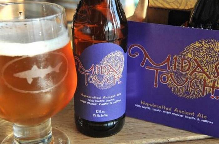*Прикосновение Мидаса* - пиво, приготовленное по древнему рецепту.