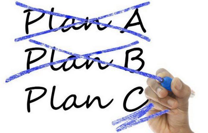 Слишком много планов на случай непредвиденных обстоятельств.