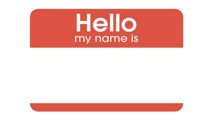 И обязательно узнайте имя собеседника!
