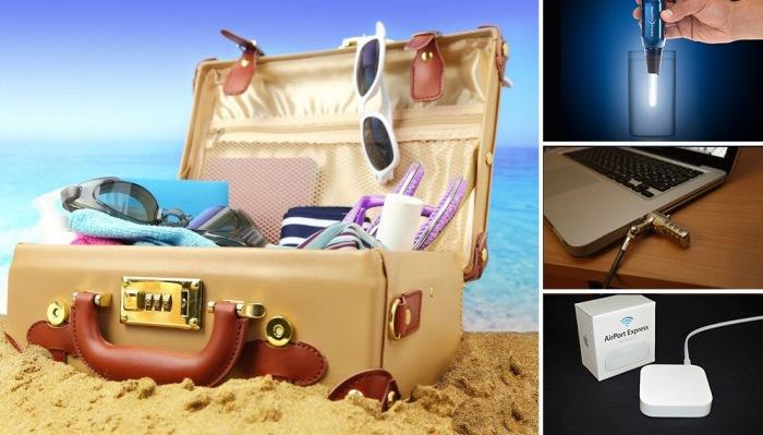 15 устройств, которые обязательно пригодятся в путешествии.