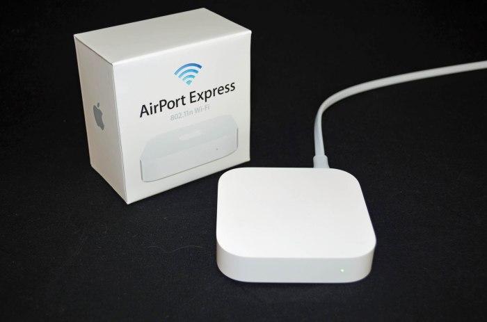 Airport Express - интернет, который всегда с тобой.