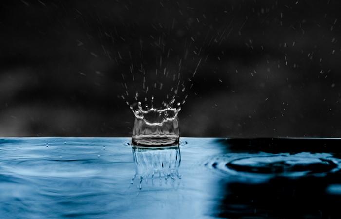 Интересный факт: скорость капель дождя.