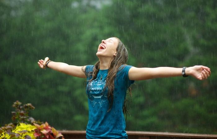 Интересный факт: дождь можно пить.
