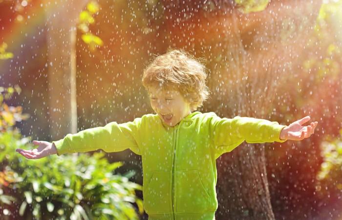 Интересный факт: запах дождя.
