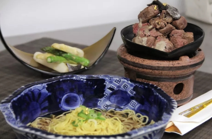 Рамен - необычное японское блюдо.