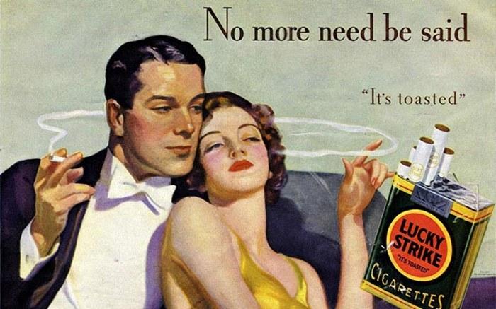 Табачная реклама - двигатель торговли.