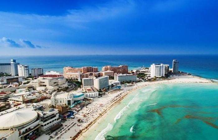 Канкун - самый популярный курортный город в Мексике.