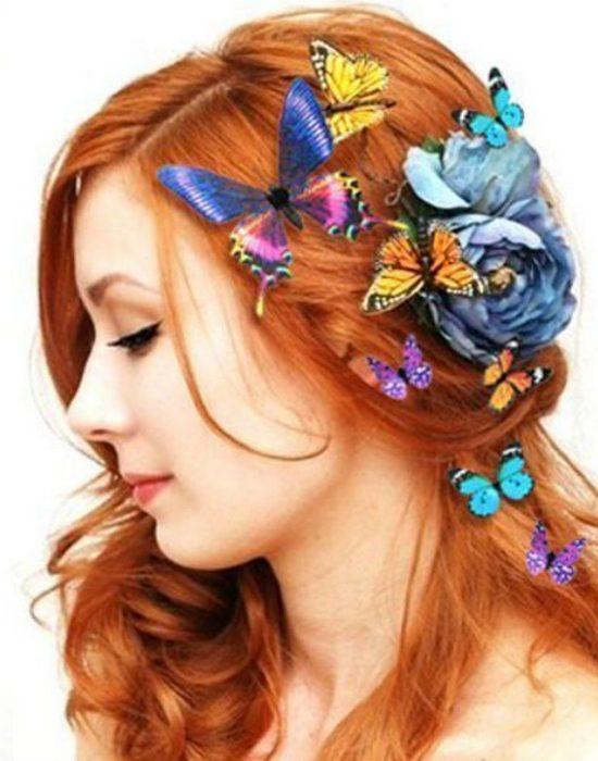 Нелепая мода из прошлого возвращается: заколки-бабочки.