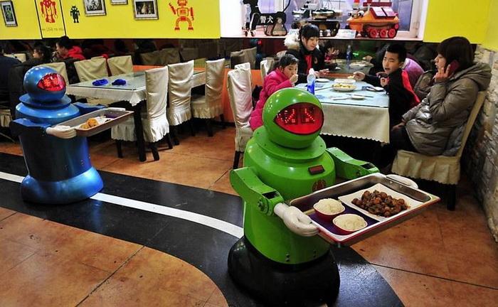 Ресторан роботов.