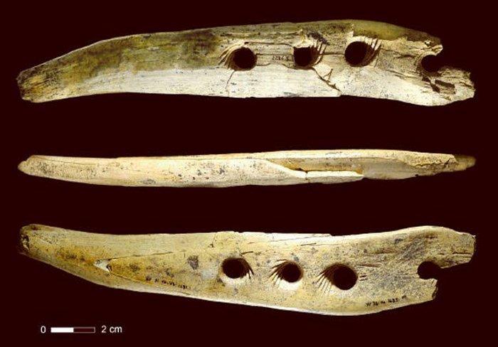 Устройство из слоновой кости для создания веревок.