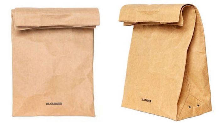 Бумажный пакет Jil Sander