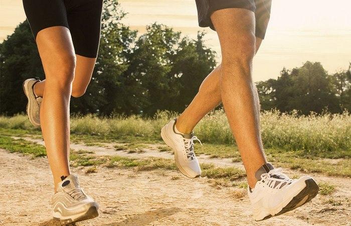 Бег улучшит силу мышц и укрепит кости.
