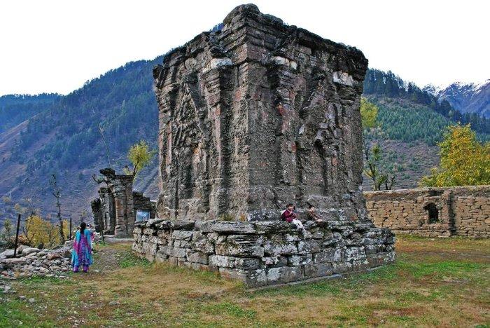 Заброшенный храм богини Сарасвати.