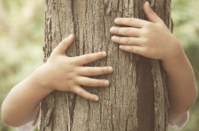 Я обниму тебя, как дерево... до смерти.