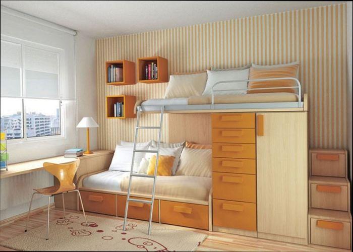 Как увеличить пространство даже самой маленькой квартиры.