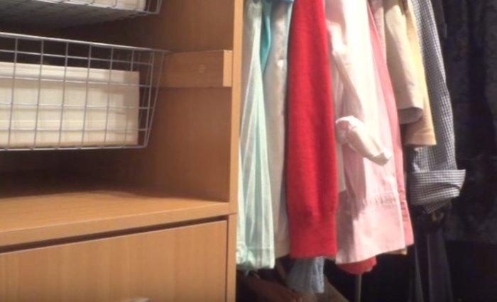 И в самом идеальном шкафу пыли достаточно.