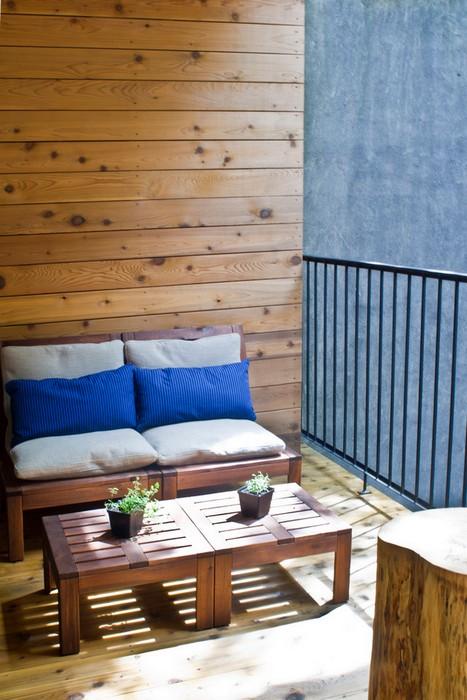 Балконные идеи от IKEA «ÄPPLARÖ».