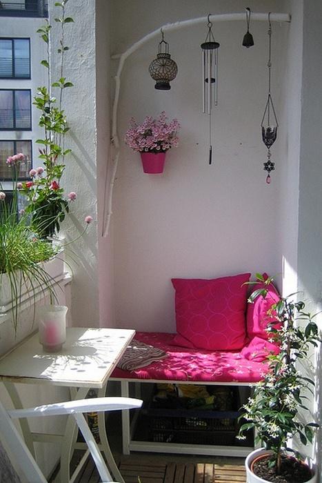 Мебель от IKEA для крошечных балконов.