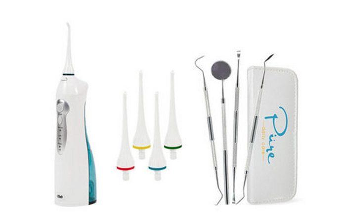 Устройство для чистки зубов водой Aqua Water Flosser.