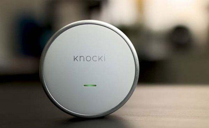 Гаджет для «умного дома»: Knocki Remote Control Smart Device.