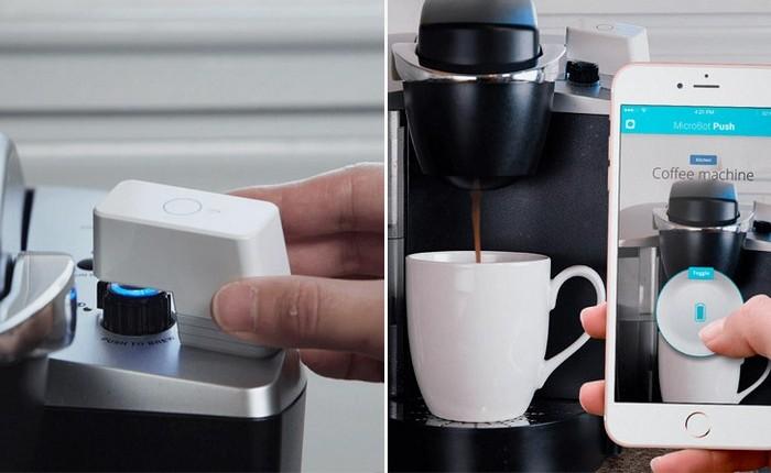 Гаджет для «умного дома»: Smart Remote Button Pusher.