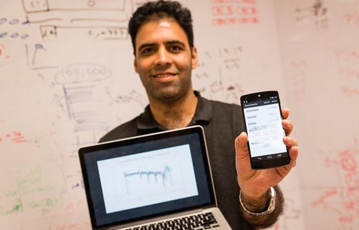 PIN-код смартфона: анализ реакции датчиков.