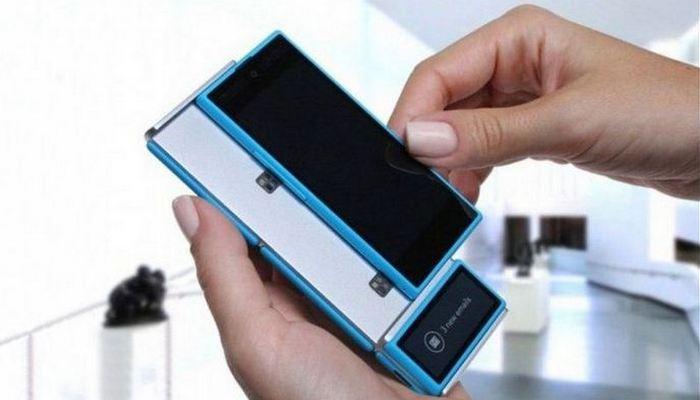 Интересный факт о концепции платформы для модульного смартфона.