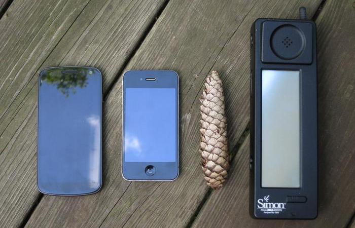 Хроники стремительного восхождения смартфона...