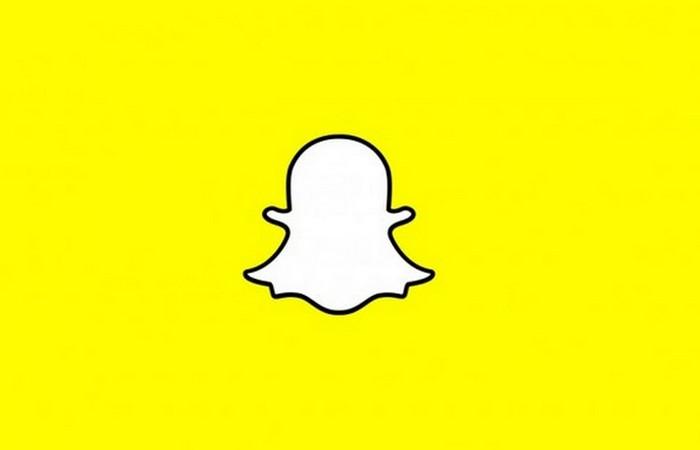 Приложение Snapchat.