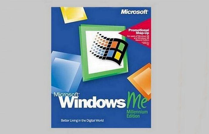 Приложение Microsoft Windows Millenium Edition.
