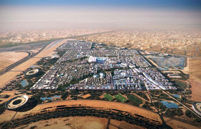 Экологически чистый город Масдар (ОАЭ, Дубай).
