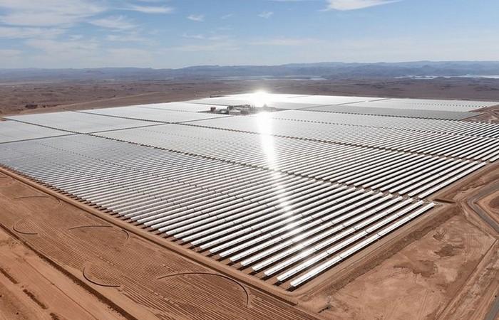 Крупнейшая солнечная ферма Африки (Марокко).