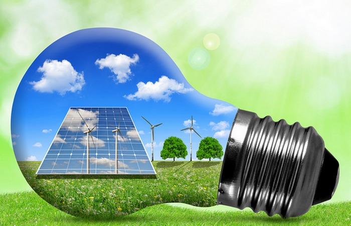 Зеленая энергетика - будущие Голубой планеты.