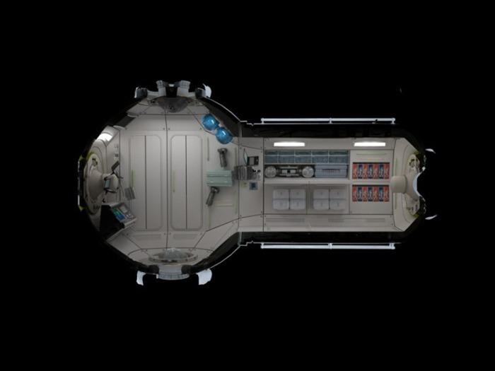 Космический отель: мало места, много возможностей.