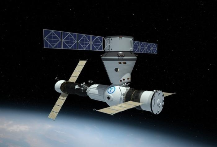 Космическая станция для туристов.